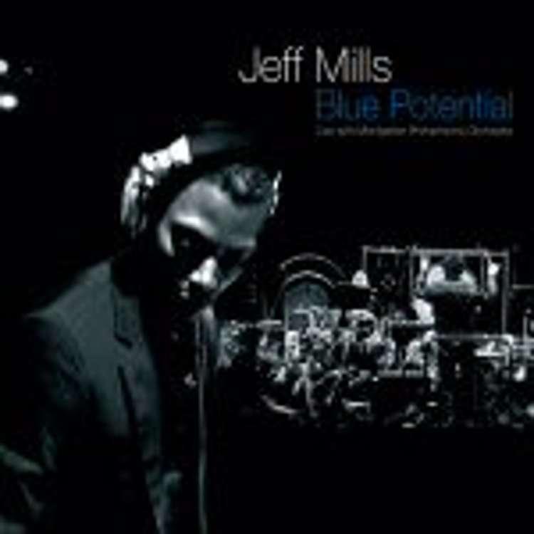 Jeff Mills et l'orchestre national de Montpellier - blue potential