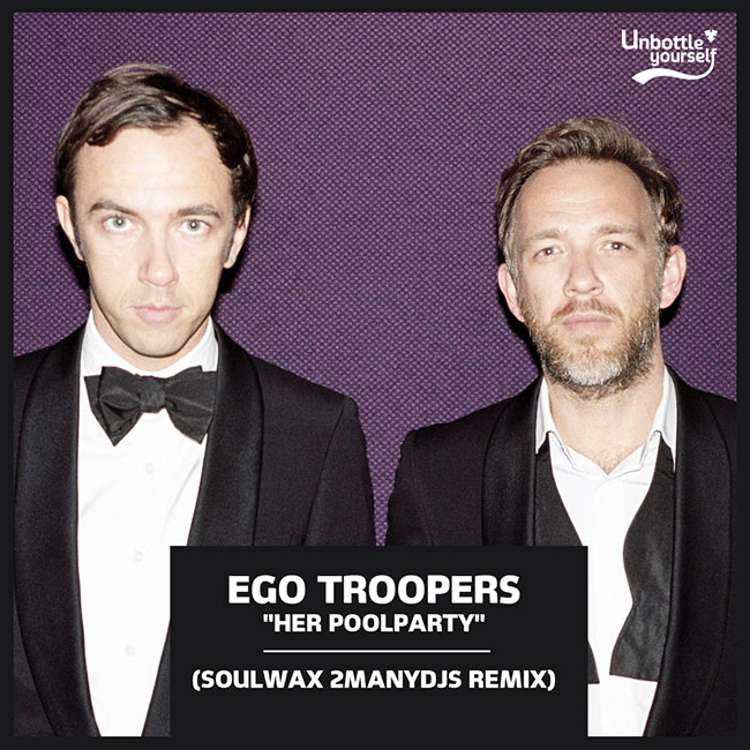 """""""HER POOLPARTY"""" - EGO TROOPERS (SOULWAX REMIX)"""