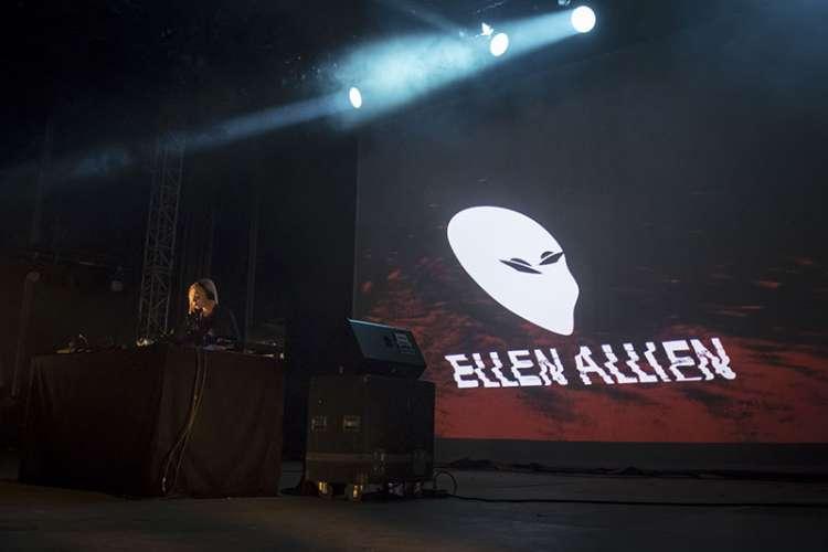 Ellen Allien par Nicolas Joubard