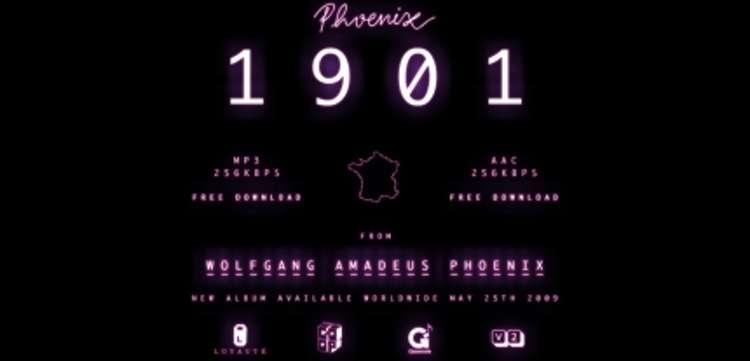 Un titre du nouvel album de Phoenix en téléchargement gratuit