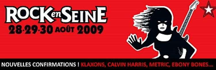 Rock en Seine 2009 dévoile sa programmation